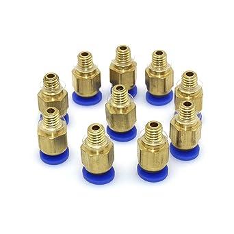 popprint PC4-M6 rectas de 4 mm rosca M6 de conector para impresora ...