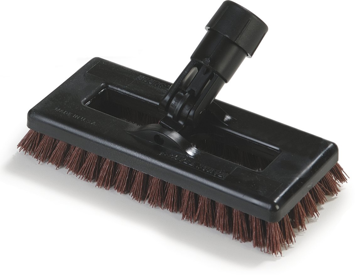 Carlisle 36531027 Swivel Scrub Brush, 8', Rust 8 Carlisle Corporation 365310-27