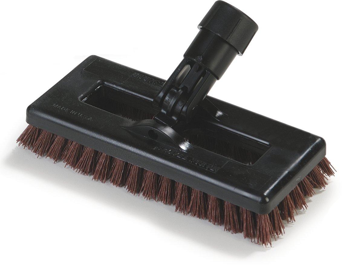 Carlisle 36531027 Swivel Scrub Brush, 8'', Rust