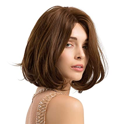Amazon Com Iusun Wigs 30 Cm Women S Full Front Short Bob Curly