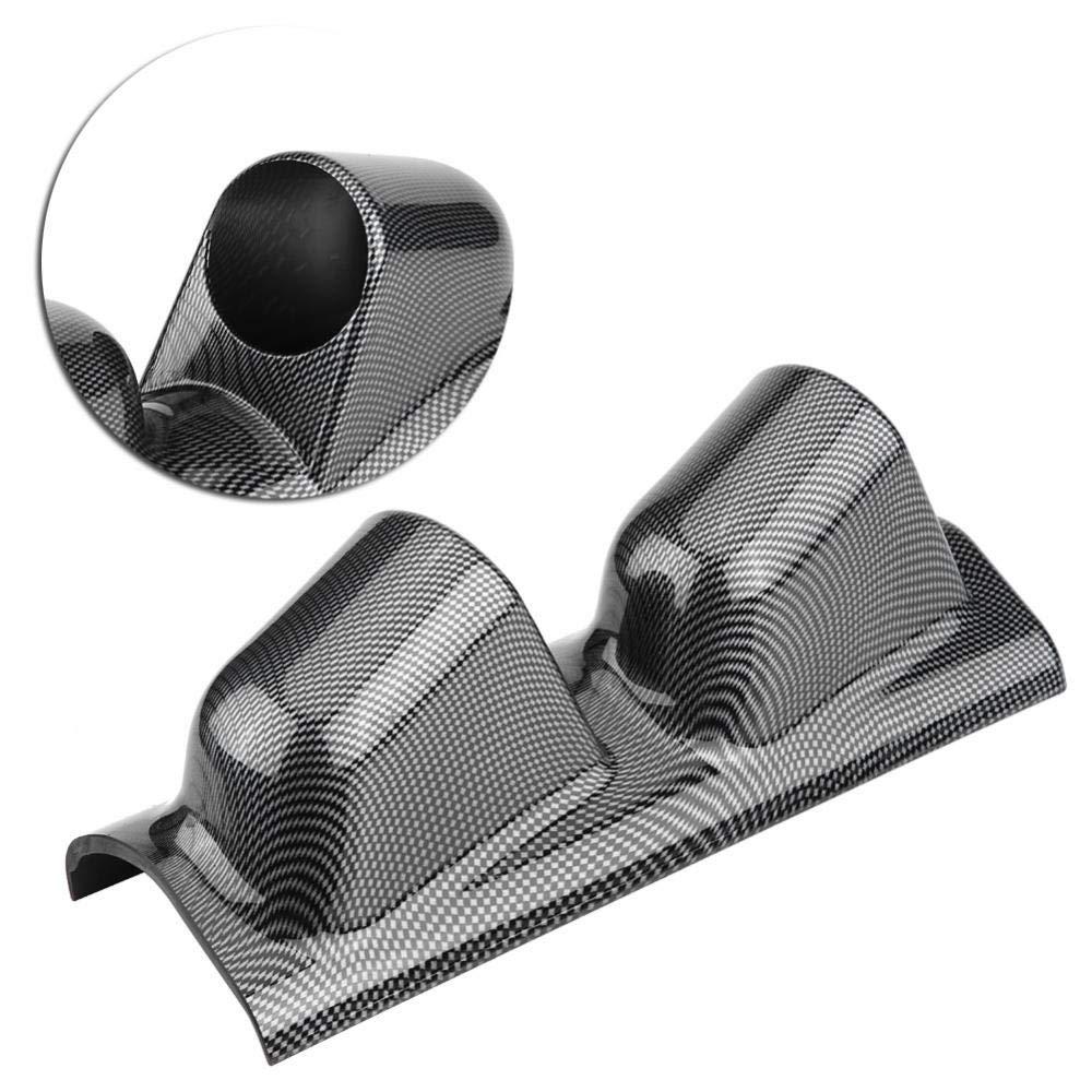 Auto Gauge Halterung Bracket Instrumentenhalter Universal Hochleistungs Rennsport Messger/ät Spurhalter f/ür Pod-Halter Messger/ät Halter Dual hole
