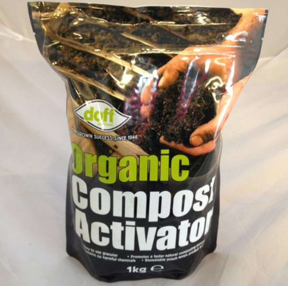 Doff Organic Compost Activator 1kg - Used to make compost