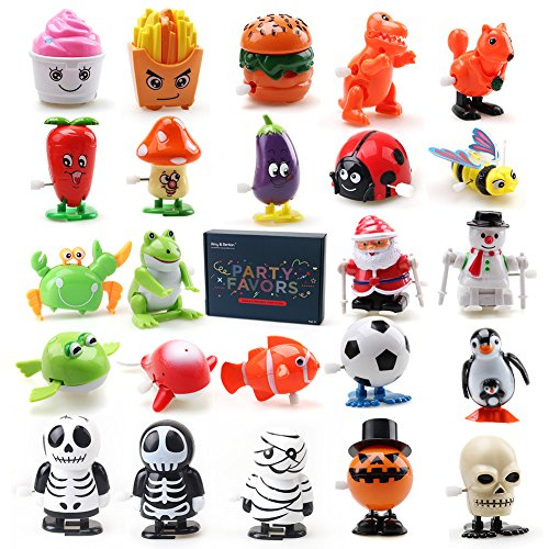 Amy & Benton Wind up Toys for Toddlers Kids and Adults 24 PCS Clearance