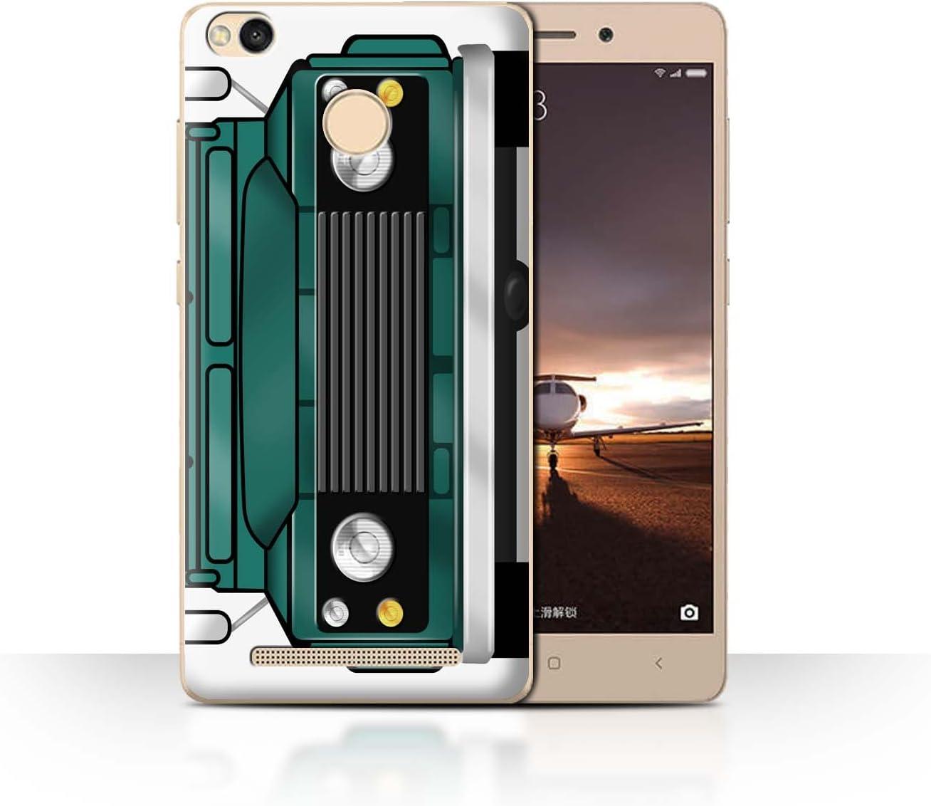 Stuff4® Phone Case/Cover/Skin/xia-CC/Classic 4 x 4 Defender Collection Vert Trident Xiaomi Redmi 3 Pro/3S Prime: Amazon.es: Informática