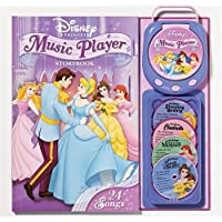 Disney Princess Music Player Storybook [With Music Player and CD (Audio)]