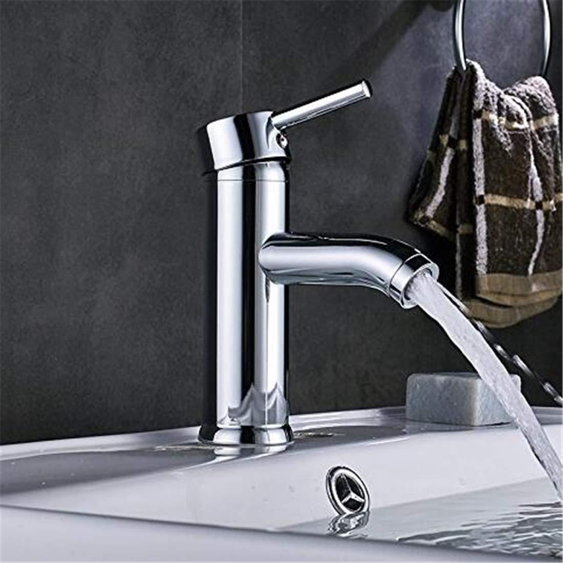 Mischbatterie Brause Drehbar Bad Spültisch Waschbecken Wasserhahn Einhand-Deck Montiert Wasserhahn Heißen Und Kalten Wasser Mischbatterien