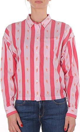 Lee - Camisa para mujer, diseño de tanga, color rosa y rojo: Amazon.es: Ropa y accesorios