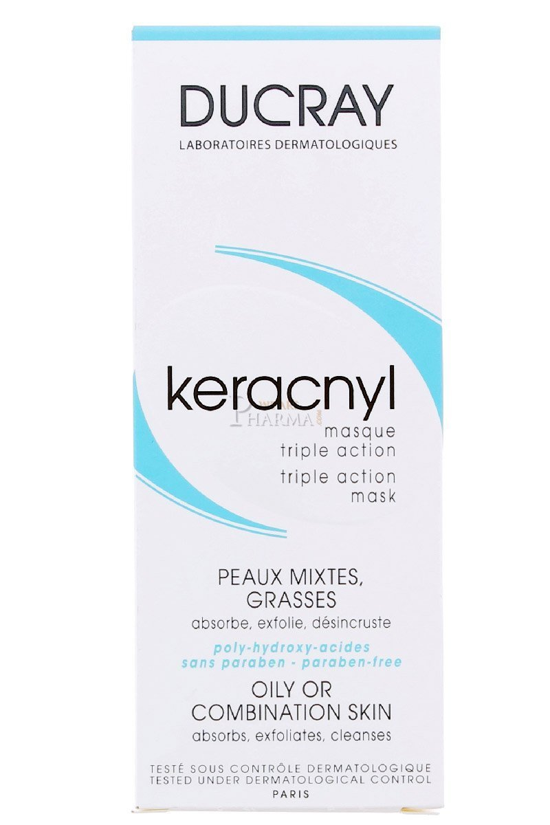DUCRAY Keracnyl Mascarilla Triple Accion 40ML 3576