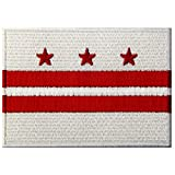 Best Districts Of Columbias - Washington DC State Flag Embroidered Patch Iron On Review