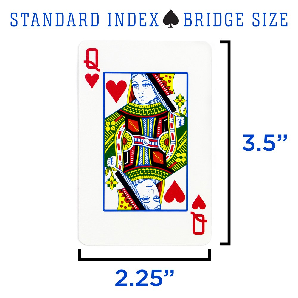Copag Lace 2016 WSOP World Series of Poker Plastic Playing Cards Regular Index GCOP-1201 Red//Black Bridge Narrow Size