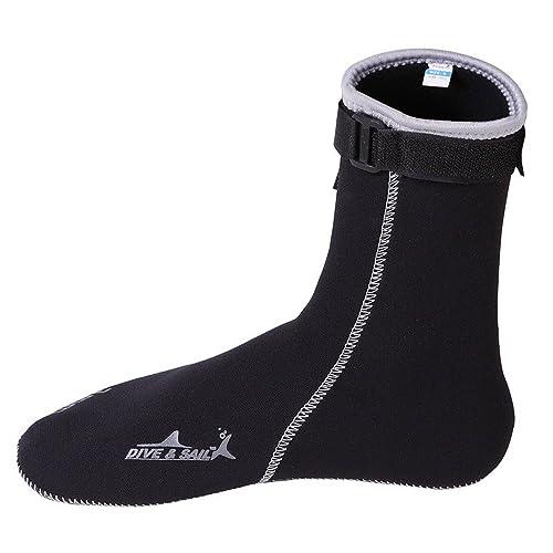 Un Punto Wetsuits Prima Neopreno 3 mm Neopreno Calcetines de Agua