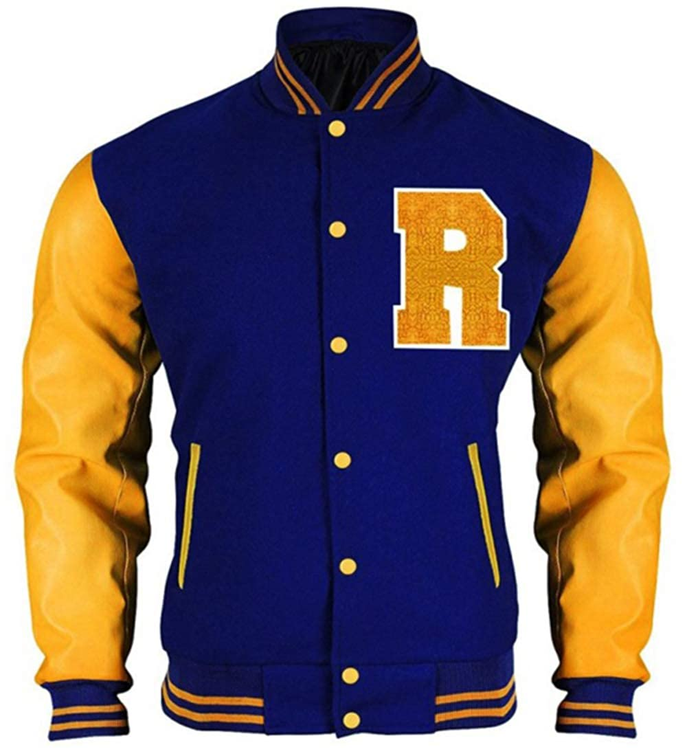 Riverdale Archie Andrews KJ APA Varsity Letterman R Bomber Jacket
