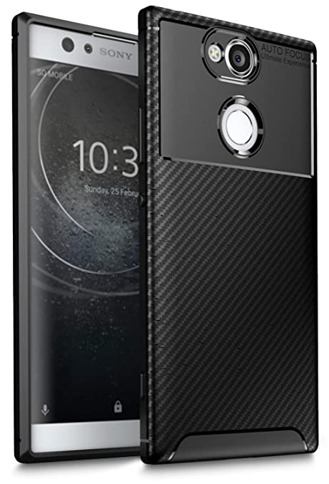 arrives ddcae f17a3 Sony Xperia XA2 Case, iBetter [Hexagon Lines] Soft Flexible TPU Back Cover  Ultra Slim Anti-Scratch Shock Absorption Protective Case Cover for Sony ...