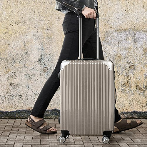 Heritage PC Expandable Spinner 20 Inch Carry-On / Strong ...