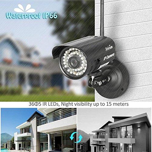 Outdoor Wifi Wireless Network Security Webcam IR IP P2P Camera