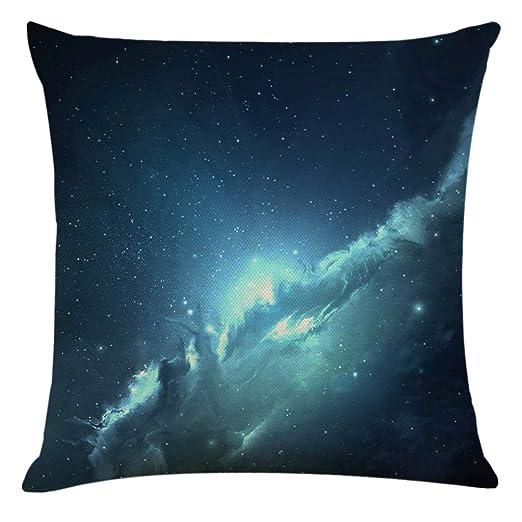 LCLrute Black Hole Universe - Funda de cojín antiácaros e ...
