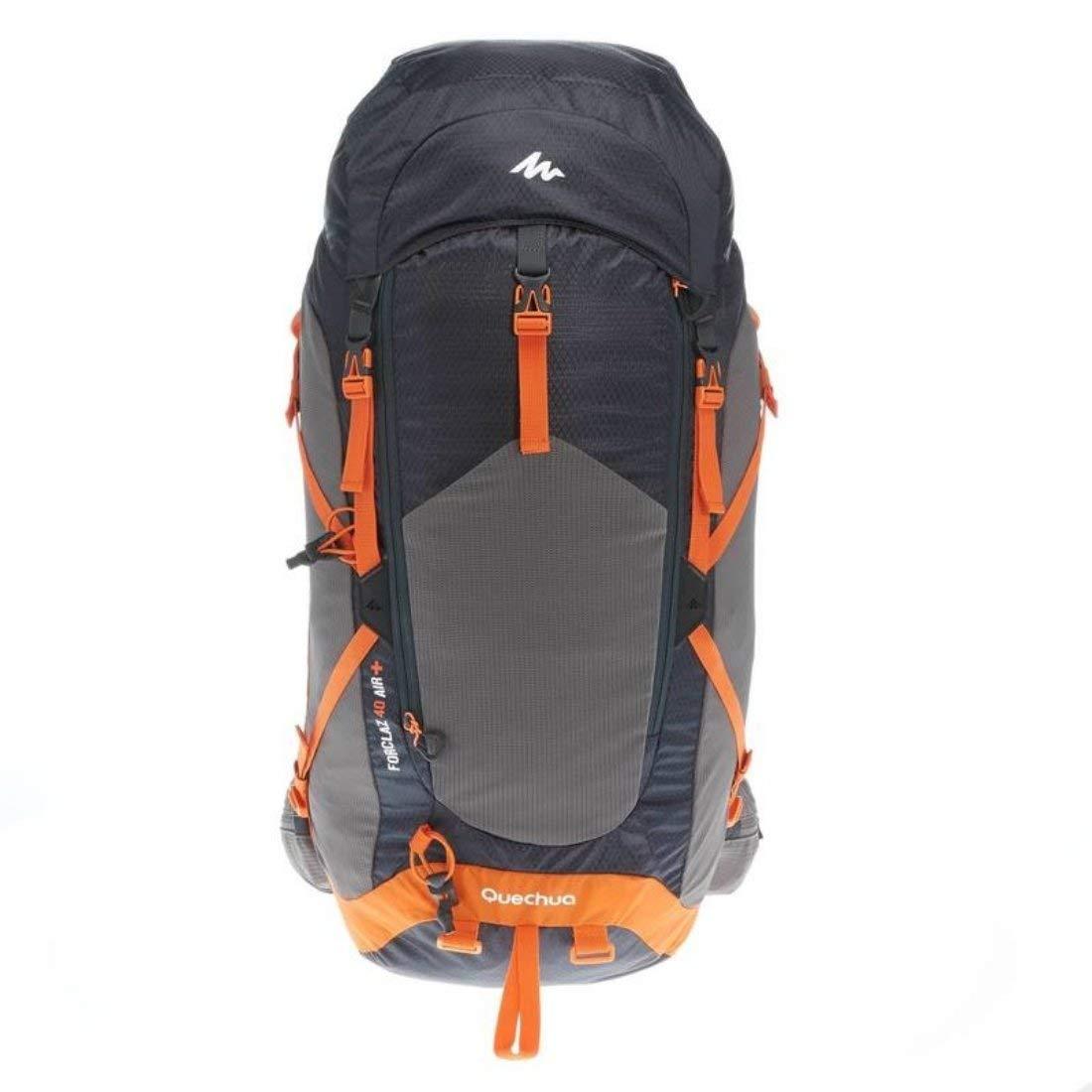 check-out 7bcd0 5a1be QUECHUA MH500 40-l Escursionismo Zaino - Nero/Arancione ...