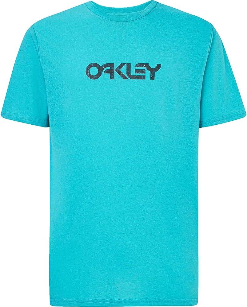 Oakley 2020 Camo B1B Logo Camiseta de manga corta Hydrolix para hombre Azul Azul Ola M: Amazon.es: Ropa y accesorios