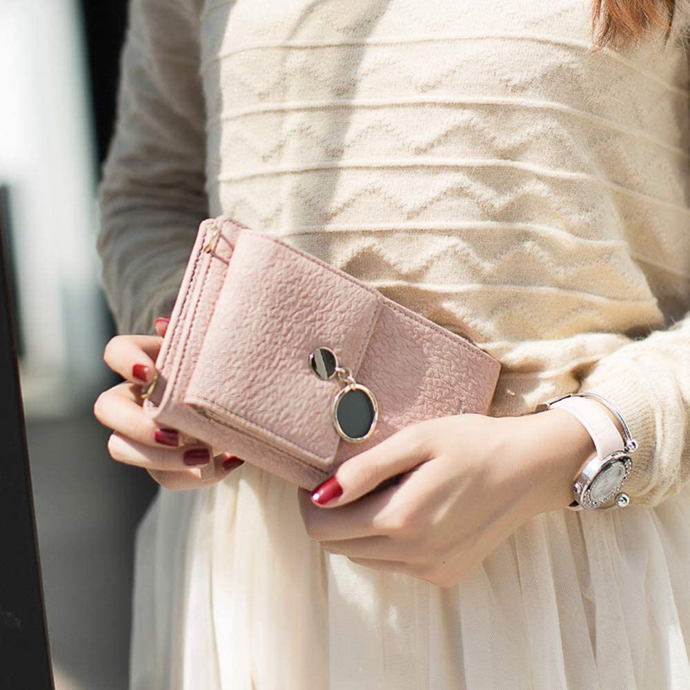 LIDASEN small bag Women Wallet Cross-body Bag Leather Purse Coin Cell Phone Mini Pouch Card Holder Shoulder Wallet Bag Adjustable Strap Credit Card Hold Cellphone//Smartphone 3.5-6.5 inch