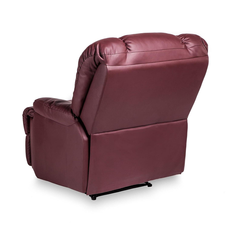 Relaxsessel mit liegefunktion  Fernsehsessel mit Liegefunktion TV Relaxsessel in Kunstleder ...