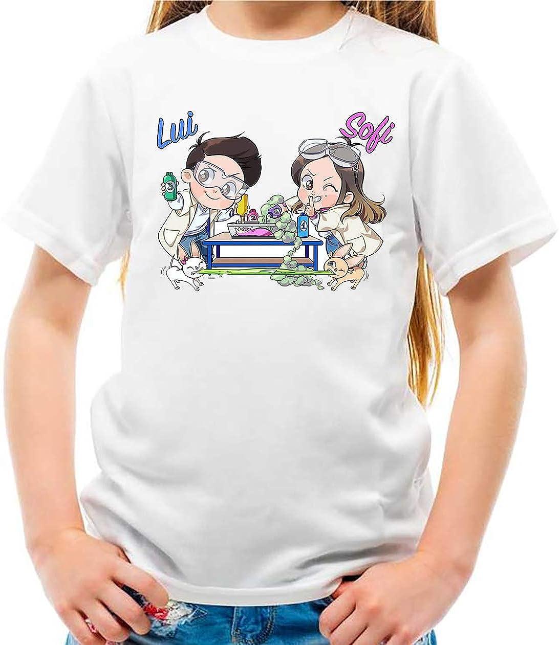 Maglietta dei me slime lab contro bambino te bambina di Lui e Sofi tshirt felpa