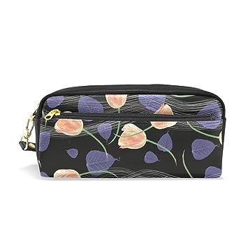 bennigiry flores tulipanes luz lápiz bolsas caja de lápiz ...