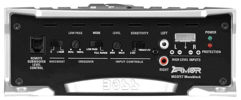 Amazon.com: Amplificador Para Carro Auto Car Amplifier Boss Audio ARM1500M Armor 1500 Watt: Home Audio & Theater