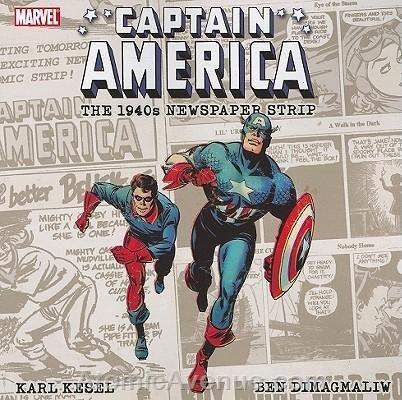 Captain America the 1940s Newspaper Strip TPB #1 VF/NM ; Marvel comic book
