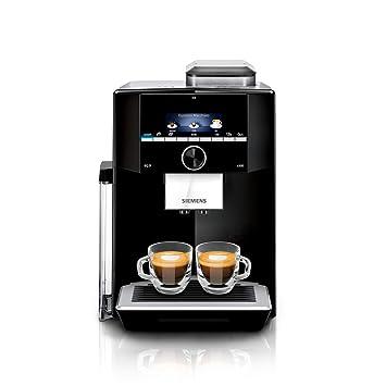 Siemens TI923509DE - Cafetera (Independiente, Máquina espresso, 2,3 L, Molinillo integrado, 1500 W, Negro, Plata): Amazon.es: Hogar