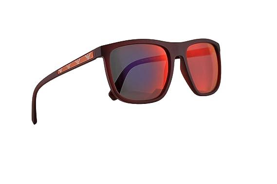 Amazon.com: Emporio EA4124 Armani - Gafas de sol (lente roja ...