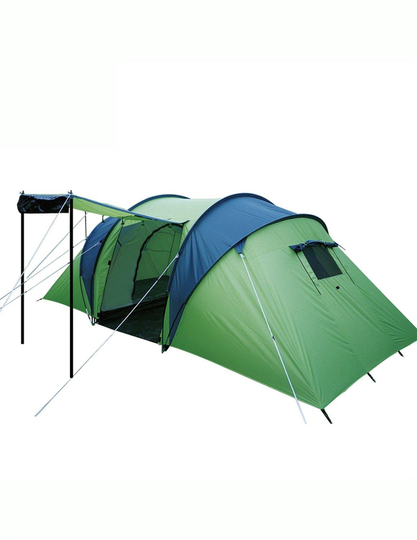 Hochwertiges Zelt - Outdoor 3-4 Personen Zelt Feld Camping Rainproof Übergroßes Zelt --Outdoor Reisebequemlichkeit Zelt