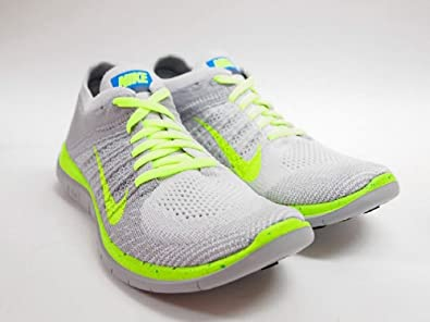 buy popular 915ee 84c80 NIKE FREE 4.0 FLYKNIT ID WOLF GREY PURE PLATINUM-WHITE 638398-011 (