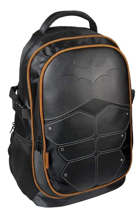 Mochila Escolar Casual Inspirado en Batman con Licencia Oficial/Mochila de Batman, Medidas 31 x 47 x 24 cm Color Negro: Amazon.es: Equipaje