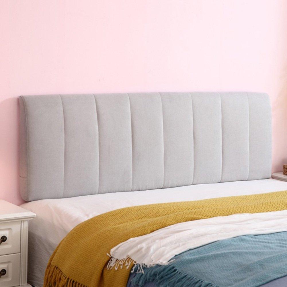 QiangDa Rückenlehne Bett Kissen Rückenkissen Ohne Kopfteil Lordosenstütze Kissen Abnehmbar Und Waschbar Füllender Schwamm, 8 Feste Farben, 4 Größen Wahlweise