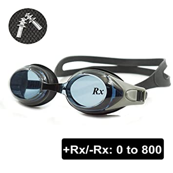 f7309167e1 Rx Prescription Swimming Glasses Hyperopia Myopia Strength 100 to ...