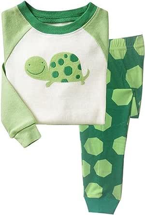 Little Hand - Pijama para Niños de Tortuga 1 Años - 7 Años