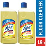 Lizol Disinfectant Floor Cleaner - 975 ml (Pack of 2, Citrus)