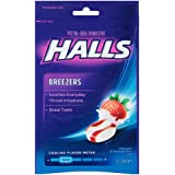 【のど飴】ホールズ クリーミーストロベリー味 Halls Breezers Drops, Creamy Strawberry , 25-Count Drops (25粒入り)