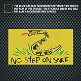 #10: Wcysin No Step On Snek Sticker for Cars and Trucks, 2.5x4.5 in