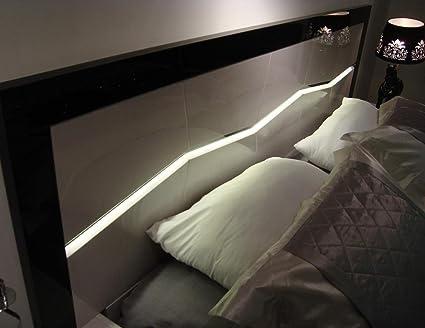 amazoncom jm furniture 17854 k turin king bedroom set light grey black lacquer kitchen dining