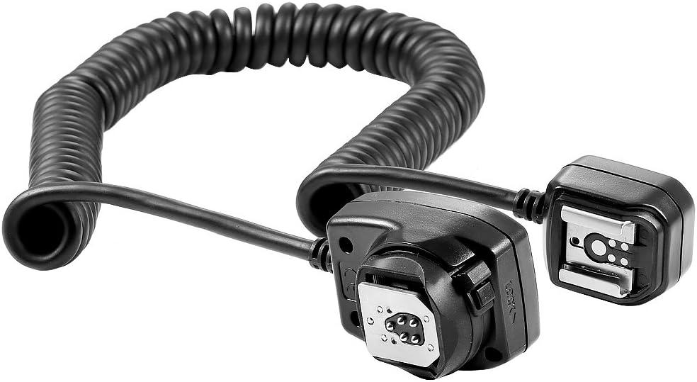 Neewer Quick Flip Rotating Flash Bracket and 9.8 feet//3 m E-TTL E-TTL II Off Camera Flash Speedlite Cord for Canon EOS 5D Mark III 7D 60D 5D 5D Mark II 1Ds Mark 6D