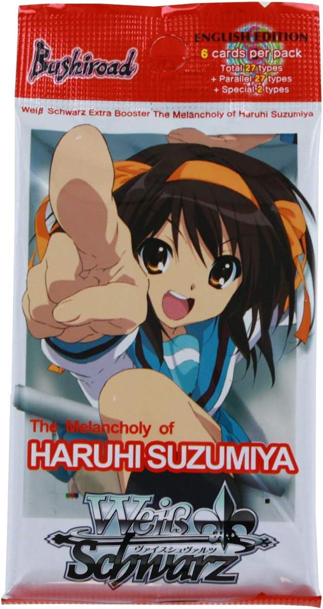 2x English Weiss Schwarz The Melancholy of Haruhi Suzumiya Extra Booster Box New