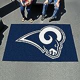 """K&A Company Ulti Mat 60""""x96"""" Nylon Carpet - St Louis Rams"""