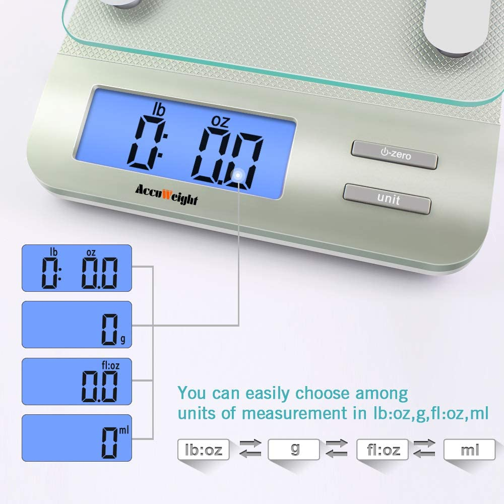 Accuweight 207 Digital Food Scale