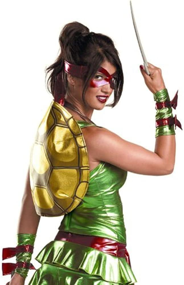 Accesorio para Disfraz de Cabeza de Tortuga Ninja para Mujer ...