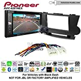 Pioneeer AVIC-6201NEX Double Din Radio Install Kit with GPS Navigation Apple CarPlay Android Auto Fits 2008-2013 Non Amplified Toyota Highlander (Black)
