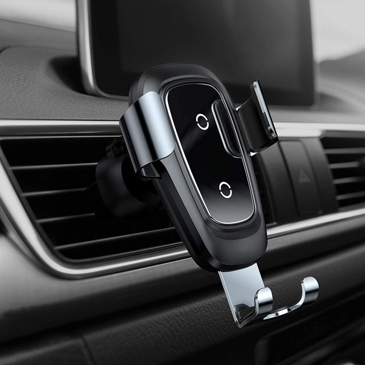 HMHD Cargador Coche InaláMbrico, Carga Rapida Smartphone Coche 2 En 1 10W, para Samsung S10/S10+/S9/S8 /S7/S6 Twilight: Amazon.es: Coche y moto
