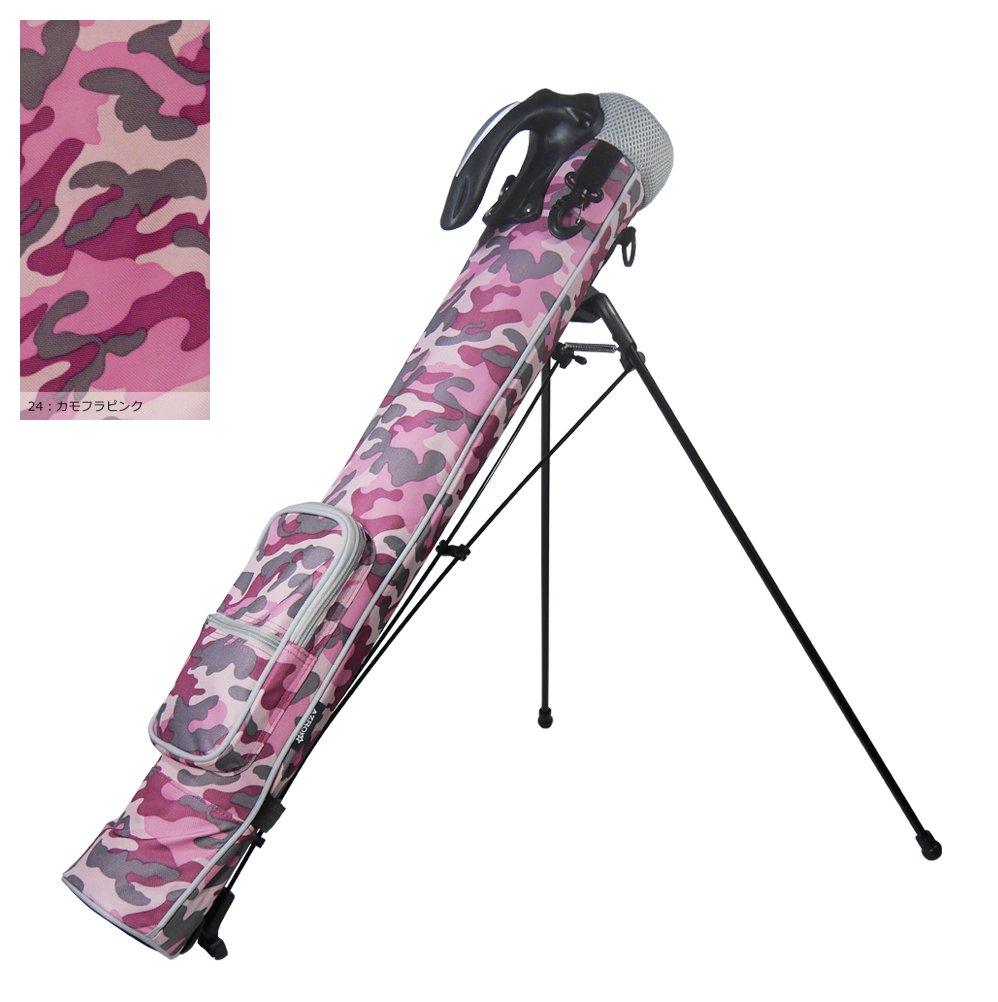 Azrof Golf Women's Half Size Club Case Caddie Stand Bag, Pink Camo by Azrof Golf (Image #2)