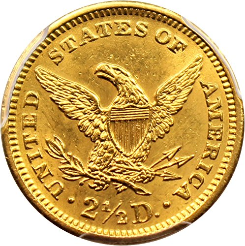 1905 P 2 50 Liberty Gold Two And A Half Dollar 92 Pcgs At
