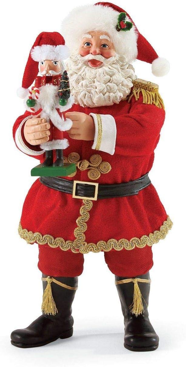 Department 56 Possible Dreams Santa Claus Go Nuts Clothtique Figurine, 11